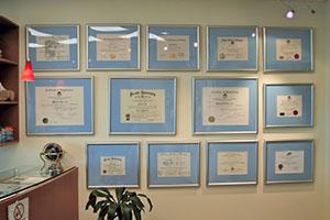 certificate-wall